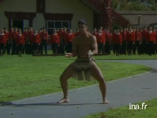 A haka as a welcome gesture