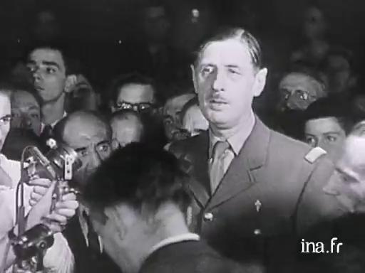 Charles De Gaulle Paroles Publiques Les Petites Phrases Du Général