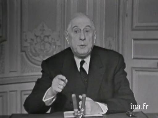 Charles De Gaulle Paroles Publiques Voeux Pour L Ann 233 E