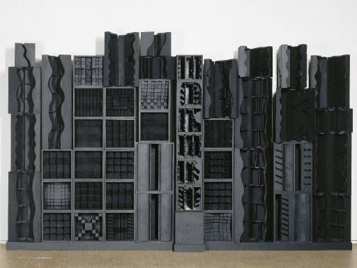 Louise Nevelson, <i>Reflexions of a Waterfall I</i>, 1982