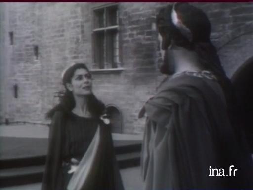 <i>Antigone,</i> mis en scène par Jean Vilar au Festival d'Avignon