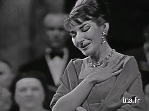 Europe of cultures maria callas sings the casta diva air - Callas casta diva ...