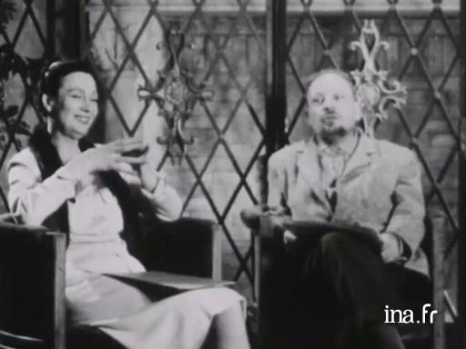 Interview with the members of the jury Arletty and Henri Jeanson