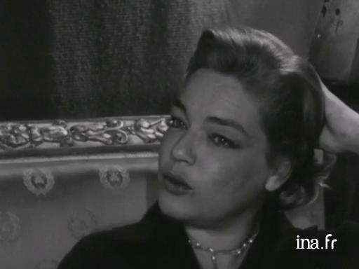 Simone Signoret on Yves Montand and her career