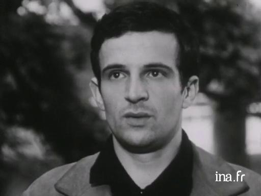 François Truffaut presents his film <i>The Four Hundred Blows</i>