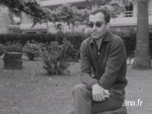 Jean-Luc Godard in Cannes on the subject of <i>Breathless</i>