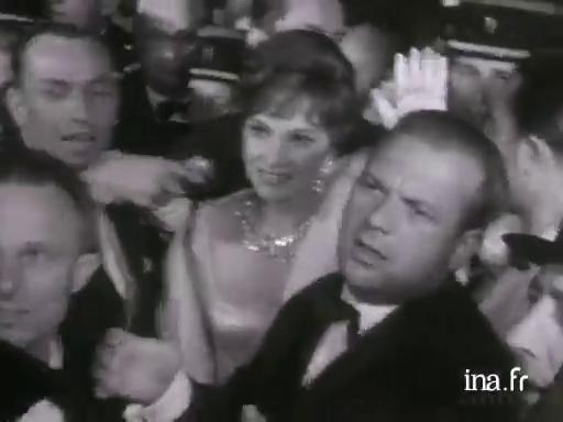Eventful climbing of the steps at the 1961 Cannes Festival
