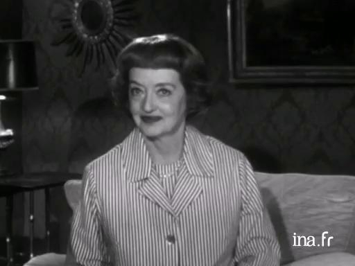 Bette Davis in competition