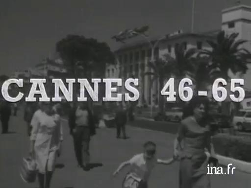 1965: 18th anniversary of the Cannes festival
