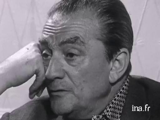Luchino Visconti, president of the jury in 1969