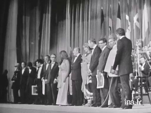 Closing ceremony Cannes 1969
