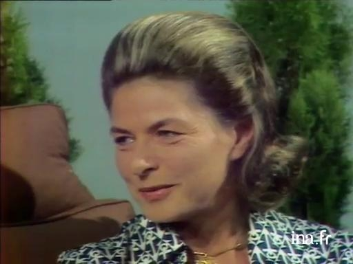 Ingrid Bergman, president of the Jury for the 1973 Festival
