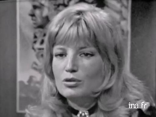 Monica Vitti, member of the 1974 jury