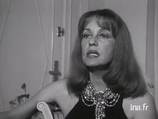 Jeanne Moreau, president of the 1975 jury
