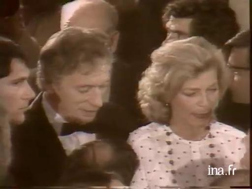 Lauren Bacall and Yves Montand special guests at the 1979 opening gala