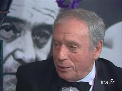 Yves Montand talks about the difficult role of Jury president