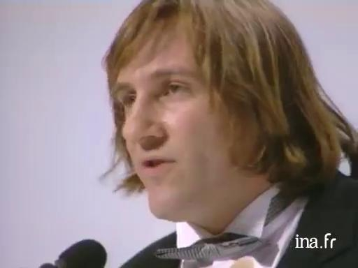 Best Actor Award to Gérard Depardieu for <i>Cyrano de Bergerac</i>