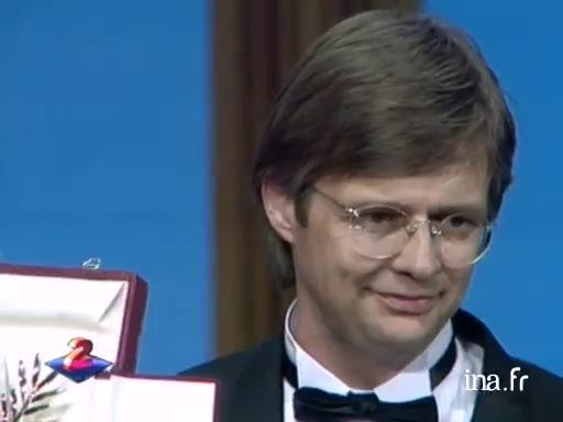 Palme d'or for Bille August in 1992 with <i>The Best Intentions</i>