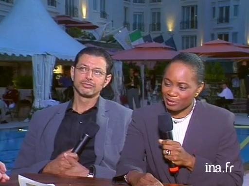 Interview with two jury members: Jeff Goldblum and Barbara Hendricks