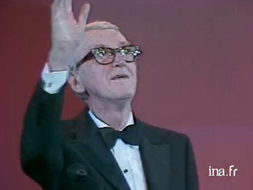 Homage to James Stewart during the 1985 closing ceremony