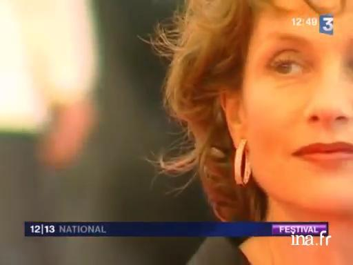 Isabelle Huppert, president of the jury