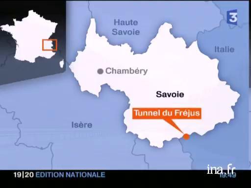 tunnel de frejus carte Le tunnel du Fréjus et le débat sur le trafic des poids lourds dans les