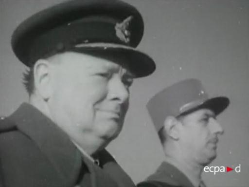 L'entrevue Churchill-De Gaulle à Marrakech