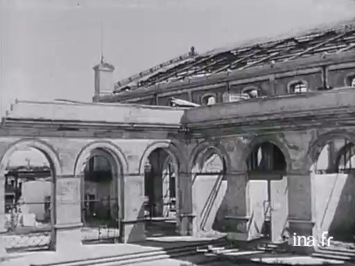 Saint-Nazaire en ruines |