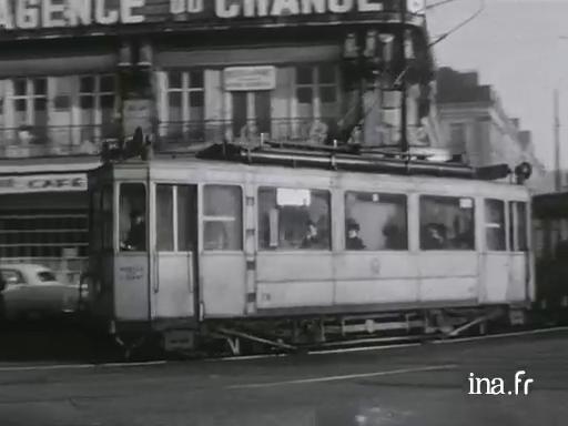Dernier voyage du tramway à Nantes [Muet] |