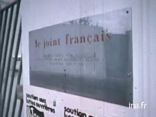 Fin de la grève au Joint Français à Saint Brieuc |