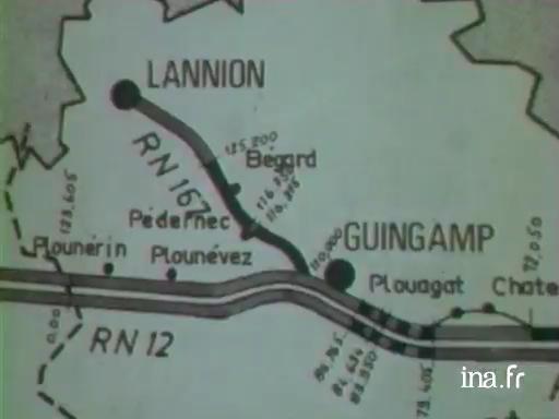 Le Plan routier breton |