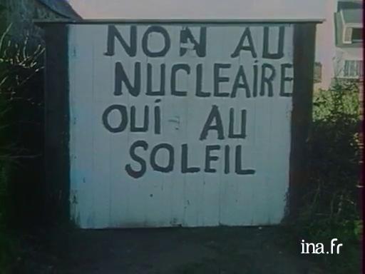 Le nucléaire contesté à Plogoff