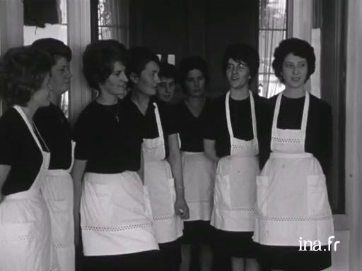 Les employées saisonnières à Saint Jean de Monts |