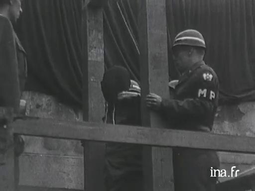Procès de criminels de guerre et exécutions |