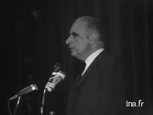 Discours de Georges Pompidou à Rennes |