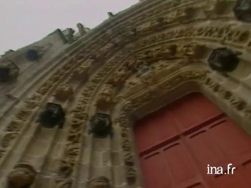 La cathédrale Saint Corentin à Quimper |
