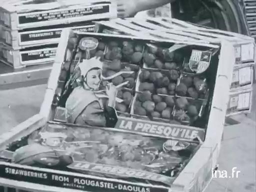 Les premières fraises de Plougastel [Muet] |