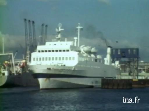 La liaison maritime Roscoff-Plymouth |