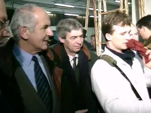 Jean Puech en visite au Guilvinec |