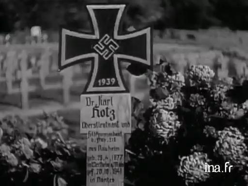 Obsèques à Nantes du lieutenant colonel Hotz
