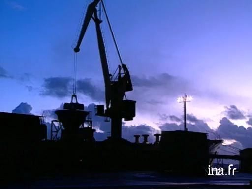 Les dockers du port de commerce de Brest
