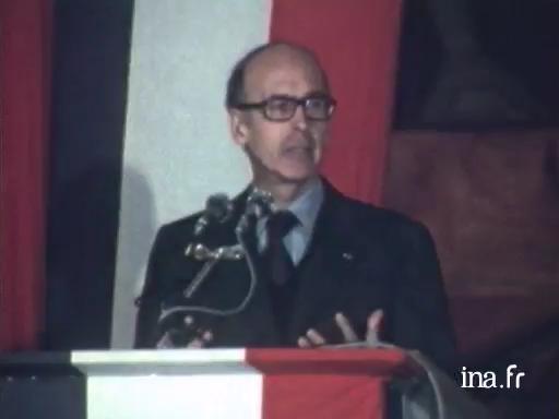 Valéry Giscard d'Estaing à Ploërmel