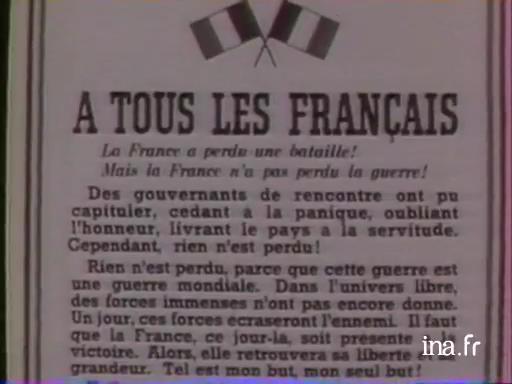 50 vloaz goude galv ar Jeneral de Gaulle [50 ans après l'appel du géneral de Gaulle]