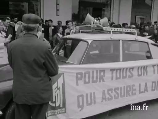 Sant-Brieg-Roazhon : manifestadegoù CGT ha CFDT [Saint-Brieuc- Rennes Manifestations CGT et CFDT] |