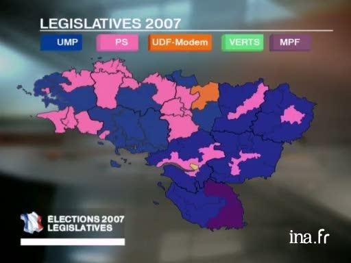 Nouvelle carte électorale dans l'Ouest  