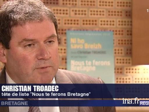 Élections régionales : Christian Troadec en campagne |