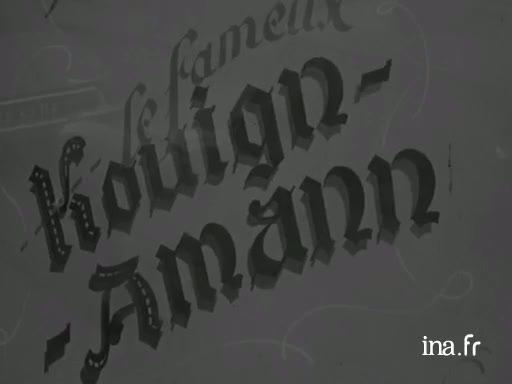 Le Kouign amann |
